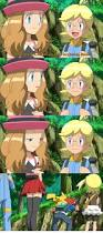 serena can u0027t stop staring at ash u0027s nice features on pokemon