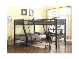 Coaster Bunks Metal Twin Over Full Loft Bunk Bed With Loft Dunk - Full loft bunk beds
