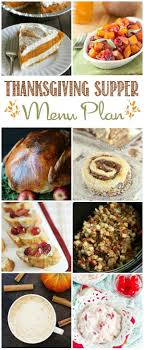 thanksgiving dinner meal plan home made interest