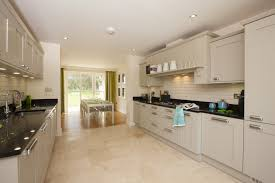 open plan kitchen and dining room home design treescape elie