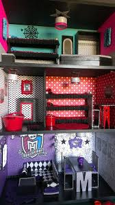 Monster High Bedroom Accessories by Best 25 Monster High Dollhouse Ideas On Pinterest Monster High