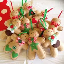 felt gingerbread man ornament joybelles craft ideas