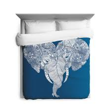 punch trunk love elephant duvet cover u2013 sharp shirter