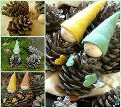 diy pine cone craft ideas projects picture