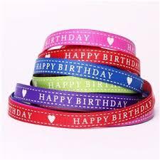 happy birthday ribbon happy birthday ribbon