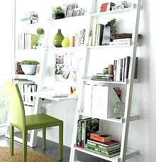 crate and barrel ladder desk ladder desk and bookcase creative modern ladder desk design for