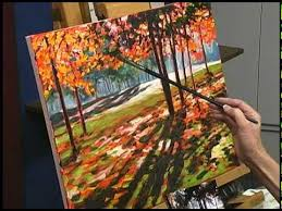 caroline jasper landscape oil painting on red ground clip youtube