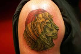 tattoo lion designs cool tattoos bonbaden