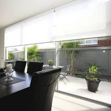 solar protection fabric for roller blinds plain pvc coated