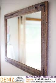 reclaimed wood bathroom mirror diy reclaimed wood frames woods rustic mirrors and bathroom mirrors
