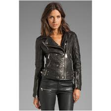 ladies motorcycle leathers women in leather jacket