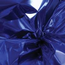 blue foil wrapping paper mylar foil party value