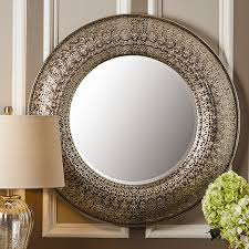 Mirrors For Walls by Magnificent Round Wall Mirror In Decors