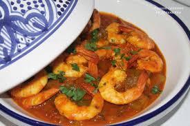 comment cuisiner des crevettes tajine aux crevettes culinaire by minouchka