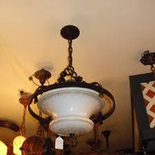 Schoolhouse Pendant Lighting by Spanish Revival Decorated Iron Pendant Light W House Globe