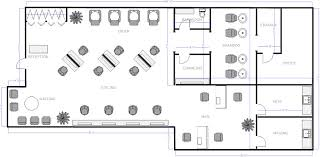 Office Floor Plans Templates Salon Floor Plan 3 Salon Business Project Pinterest Salons