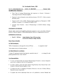 Resume Sample Jollibee Crew by Sample Resume For Pharmacovigilance Fresher Augustais