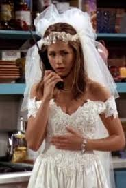 wedding dress imdb aniston in friends season 1 1994 c imdb photo essay