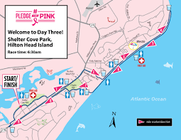Map Of Hilton Head Island Course Maps Pledge The Pink