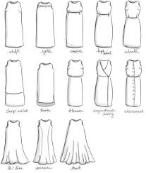 dress styles and an a line from a shift dress changing clothes