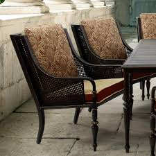 Patio Dining Chairs With Cushions Bombay Outdoors Sherborne Patio Dining Chairs With Venice Cushions