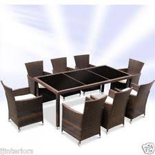 rattan dining room chairs ebay rattan dining set ebay