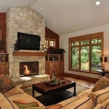 living rooms with vaulted ceilings images traditional living