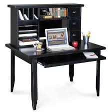 Black Corner Computer Desk With Hutch Furniture Small Black Computer Corner Desk Ideas Black Corner