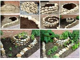 How To Build A Rock Garden Bed Rock Flower Bed Idea Garden And Yard Pinterest Rock Flower