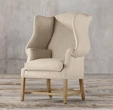 Beige Wingback Chair Georgian Wingback Chair