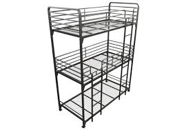 Metal Frame Bunk BedsFull Size Of Bedroom Wood Bunk Beds Mattress - Triple bunk beds with mattress