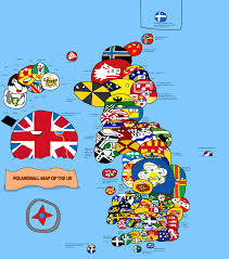 Map Of Ireland And England by Polandball Map Of The Uk Polandball