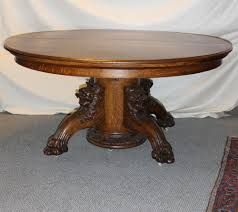 Antique Dining Room Sets Dining Tables Antique Tables Value Antique Round Oak Table