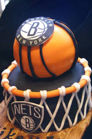 brooklyn nets basketball cake cakecentral com