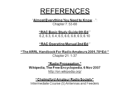 radio wave propagation references u201calmost everything you need to