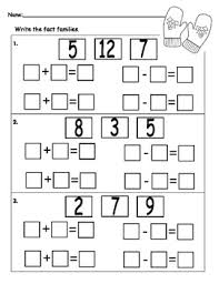free winter fact family worksheet classroom fun and holidays