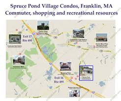 Franklin Ma Map Choice Location Enhances Spruce Pond Village Franklin Ma