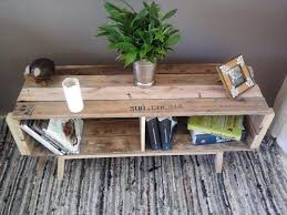 Coffee Table Out Of Pallets by Diy Wood Pallet Coffee Table With Storage