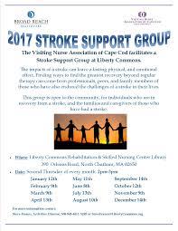 visiting nurse association of cape cod will facilitate stroke