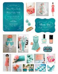 teal wedding teal coral wedding wedding blue turquoise weddings and coral