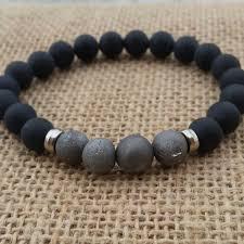mens black beaded bracelet images 1025 best diy men 39 s accessories images stretch jpg