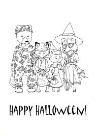 halloween coloring page happy halloween hallowen coloring pages
