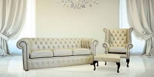 Buy Chesterfield SuiteLeather FurnitureDesignerSofasU - Cream leather sofas