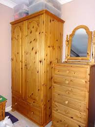 Natural Pine Bedroom Furniture by Top 15 Of Natural Pine Wardrobes