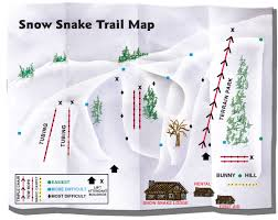 Michigan Trail Maps by Snow Snake Trail Map