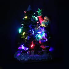 climbing santa lights wall mounted light up indoor outdoor
