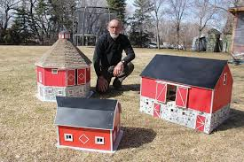Toy Barns Manitoba Hobby Builder Builds Miniature Barn Replicas