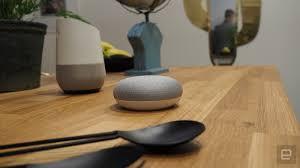 google home mini hands on smaller cheaper subtler