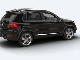 volkswagen tiguan black 2016 vw tiguan r line trim features volkswagen