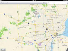 Offline Map Apple Maps Screen Shot Miqrogroove